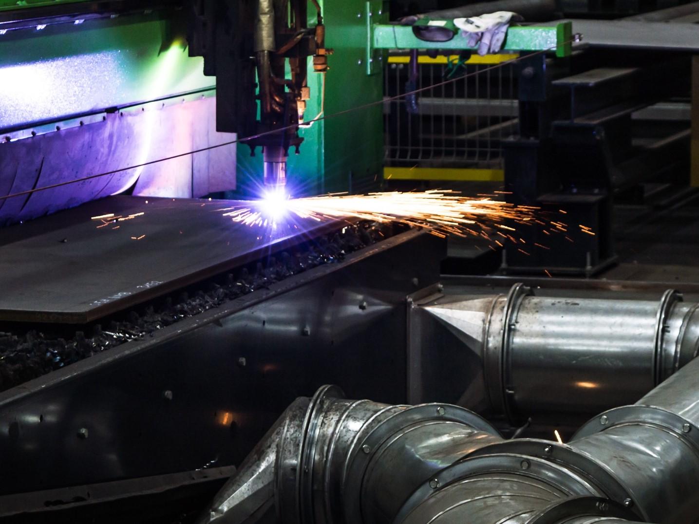 machine numérique à découpe plasma